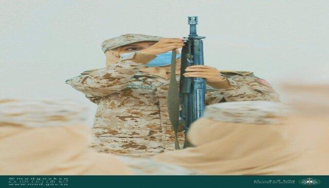 سربازان-زن-سعودی