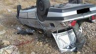 ۱۲ فوتی و مصدوم در واژگونی خودرو اتباع افغان + عکس