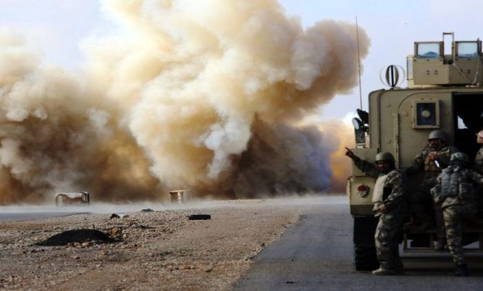 فوری / حمله به کاروان لجستیک آمریکا در عراق
