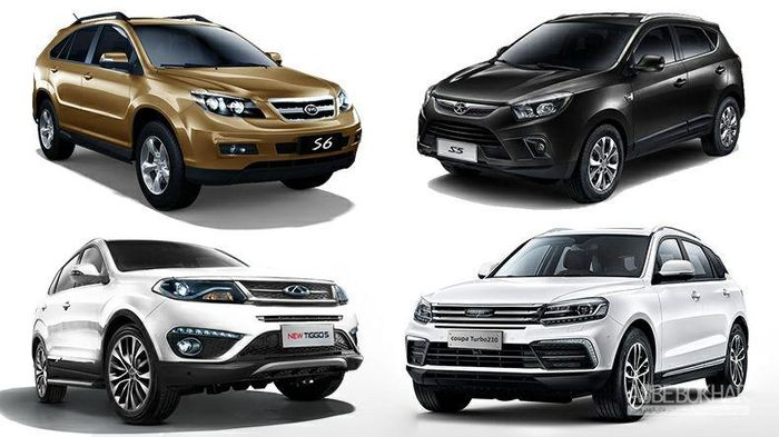 قیمت انواع خودروی چینی در بازار + جدول