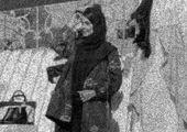 جنجال خانم مانکن پشت ویترین مغازه در مشهد
