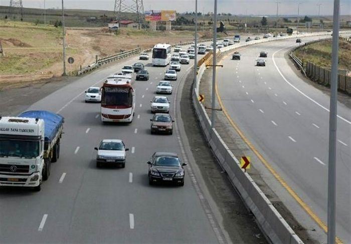 هزینه بهسازی جاده ترانزیتی تهران-قم افزایش یافت