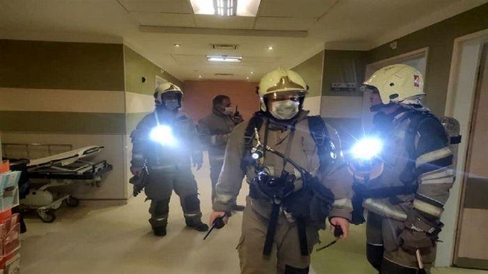آخرین خبرها از آتش سوزی بیمارستانی در یوسف آباد
