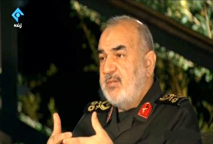 نظر فرمانده سپاه درباره شرایط جنگ آمریکا با ایران