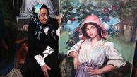 تصاویر/ کرونا و کُنج آرام یک نقاش