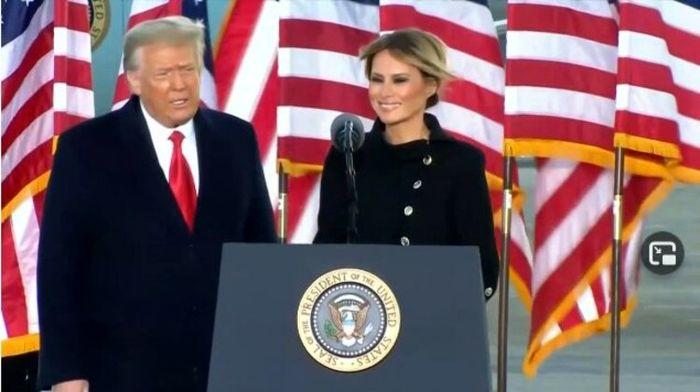ترامپ: امیدوارم که دولت جدید به موفقیت دست یابد / شما را به زودی خواهم دید!