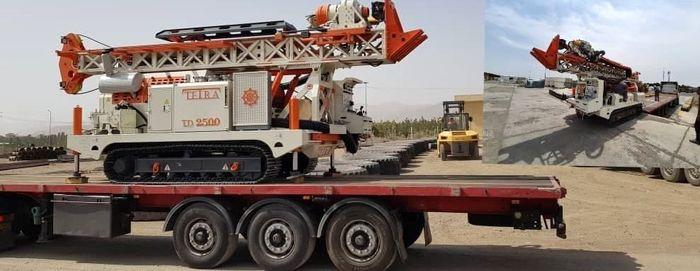 ورود نخستین ماشینآلات حفاری عمیق به چادرملو