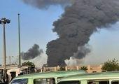 دلایل آتش سوزی پالایشگاه تهران مشخص شد+ عکس
