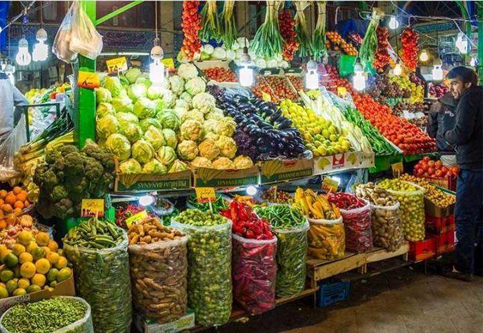 قیمت میوه و تره بار در بازار امروز (۹۹/۱۰/۰۸) + جدول