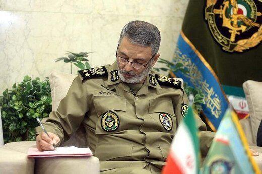فرمانده کل ارتش به رهبر انقلاب نامه نوشت