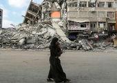حمایت زیبا از مردم فلسطین در جشن قهرمانی لسترسیتی