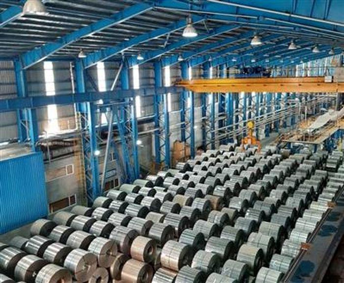 ارتقای رکورد تولید ورق گالوانیزه توسط فولاد تاراز