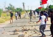 عاملان درگیری با شمشیر در حسن آباد دستگیر شدند +عکس
