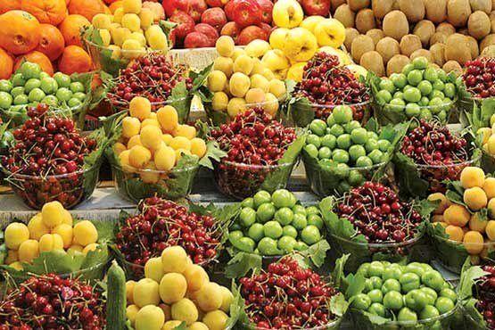 کاهش قیمت میوه و تره بار در میادین (۱۴۰۰/۰۴/۰۶) + جدول