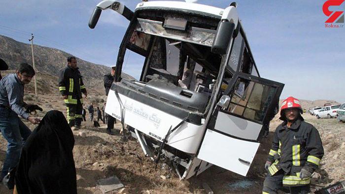 حادثه اتوبوس در ایران تمامی ندارد / عکس