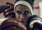 بازیگر زن ایرانی یک قدم تا قهرمانی بوکس جهان! + عکس