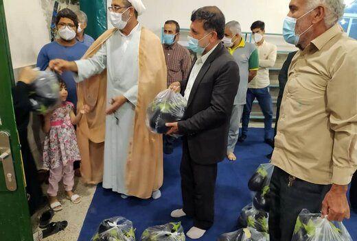ماجرای اهدای بادمجان به نیازمندان توسط امام جمعه چه بود؟/ عکس