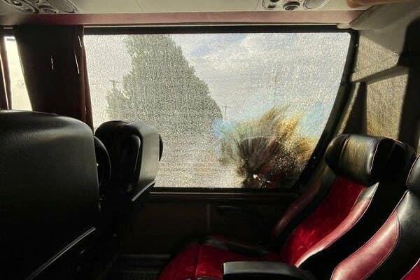 پرتاب نارنجک به اتوبوس پرسپولیس + عکس