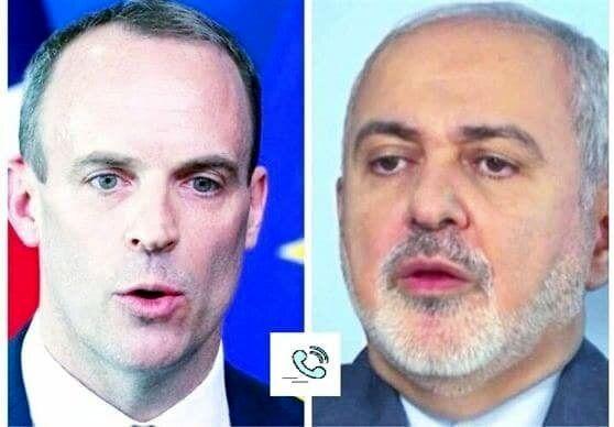 وزیر خارجه انگلیس با ظریف درباره برجام رایزنی کرد
