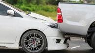 بی دقتی راننده لکسوس باعث حادثه ای تلخ شد!