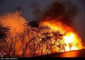آتش دوباره به جان ارتفاعات کهگیلویه و بویراحمد افتاد