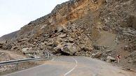 خطر سقوط بهمن و ریزش سنگ در جاده چالوس