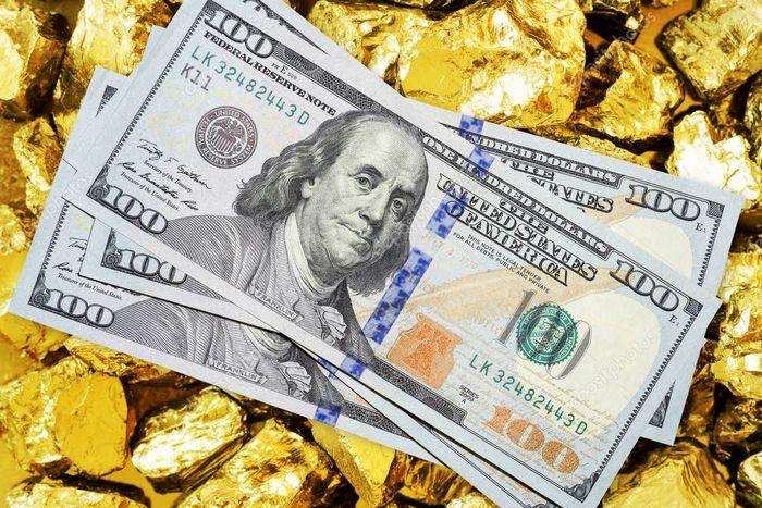 ریزش شدید قیمت طلا و دلار با افزایش شانس پیروزی بایدن