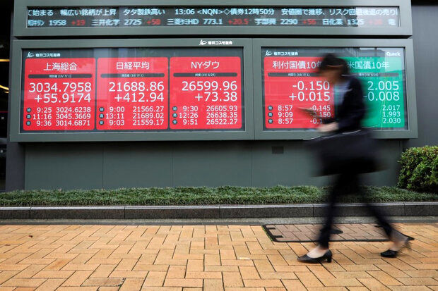 منفی شدن وال استریت تاثیری بر بورس های آسیا نگذاشت