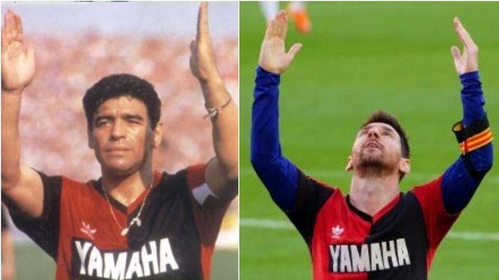 مسی حتی نزدیک مارادونا هم نمیشود!