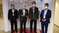 تقدیر از مدیرعامل فولاد خوزستان در حوزه مشتری مداری
