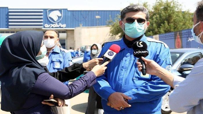 زمان آغاز تزریق دز دوم واکسیناسیون کارکنان ایران خودرو