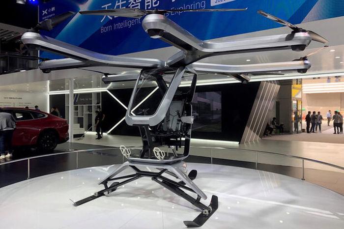 رونمایی از نمونه اولیه خودروی پرنده چینی