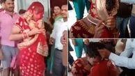 مرد زن نما در عروسی لو رفت! / عکس