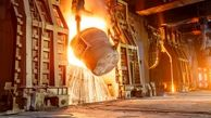 اولین کوره بلند در ذوب آهن به کار افتاد!