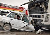 تصادف زنجیرهای به دلیل فیلمبرداری از حادثه!