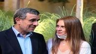 پشت پرده عکس انداختن احمدی نژاد با زنان بی حجاب در دبی