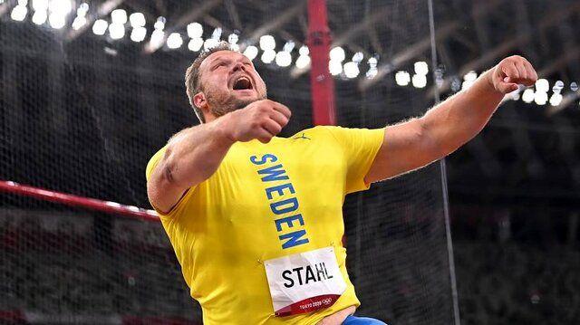 المپیک توکیو/ دنیل استاهل قهرمان پرتاب دیسک شد