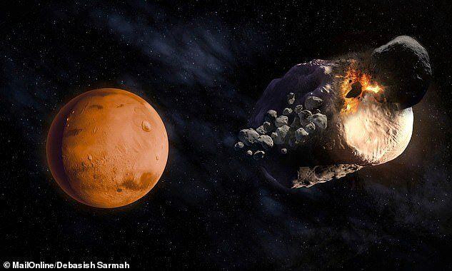 کشفیات جدید از قمرهای مریخ + عکس