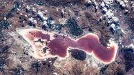 دریاچه ارومیه از نگاه دوربین فضانوردان چینی