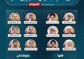 شورای نگهبان فقط صلاحیت این ۳۶ کاندیدا را بررسی می کند+جدول