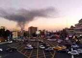 منشا دود غلیظ در غرب تهران مشخص شد