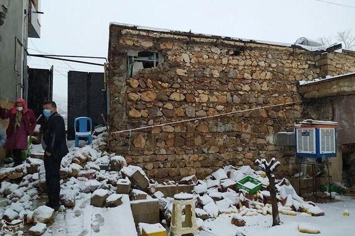 چند واحد مسکونی در سی سخت نابود شده است؟