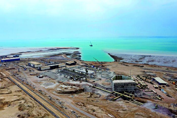 ابرپروژه انتقال آب خلیج فارس در آستانه افتتاح + فیلم