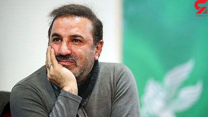 تصویری از سنگ مزار علی سلیمانی
