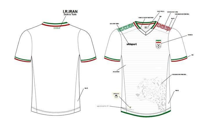 فوری - رونمایی از لباس جدید تیم ملی / عکس