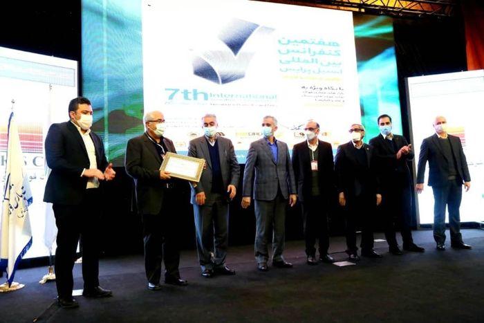 جایزه مرد سال فولاد به تقی زاده اهدا شد