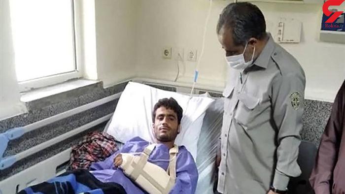 حمله گاندو به جوان سیستانی