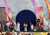 رژه کاروان ایران در افتتاحیه پارالمپیک ۲۰۲۰