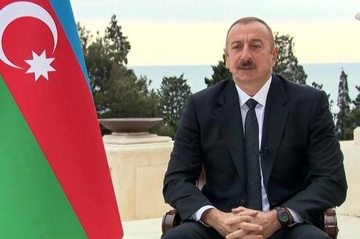 اظهارات رئیس جمهور آذربایجان درباره مرزهای ایران