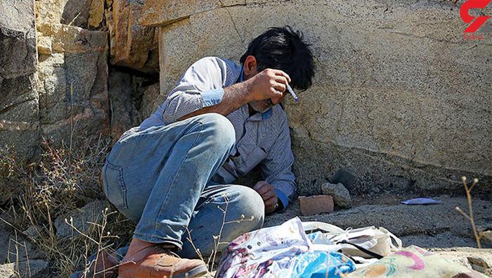 معتاد تهرانی به صورت پلیس شلیک کرد!
